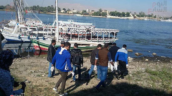 فعاليات مبادرة تنظيف نهر النيل