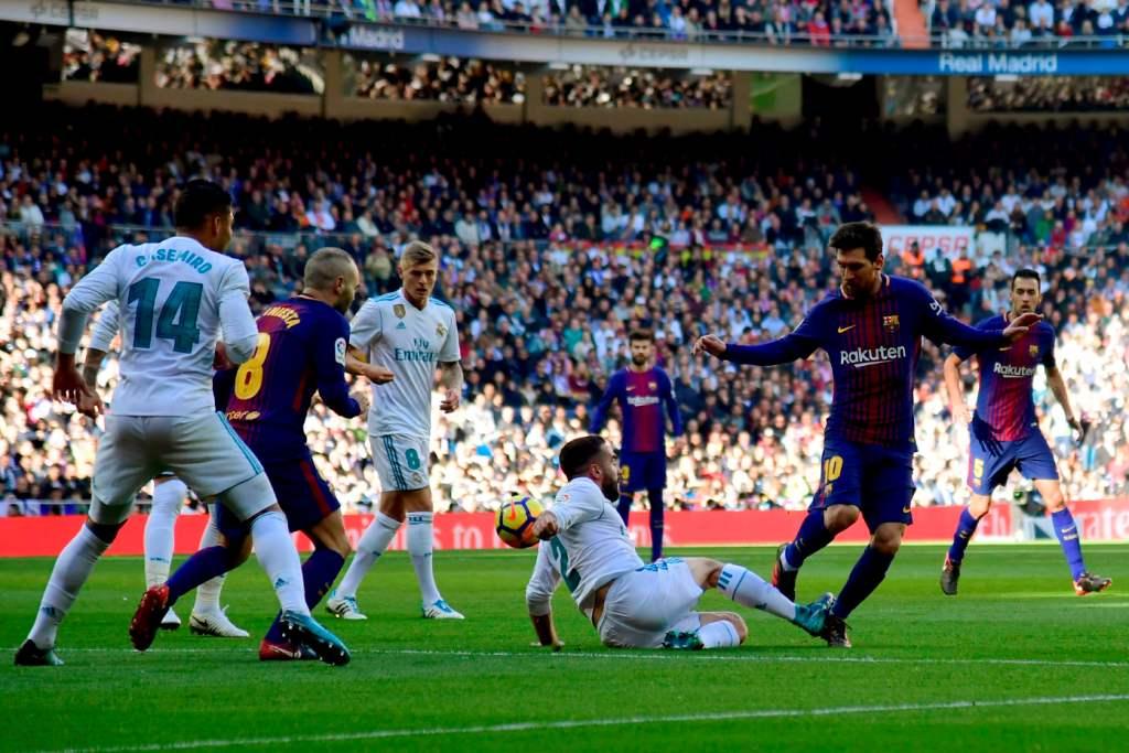 ريال مدريد ظهر بمستوى سىء أمام برشلونة