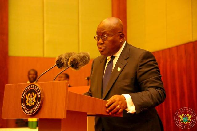 رئيس غانا يحضر حفل جوائز الكاف