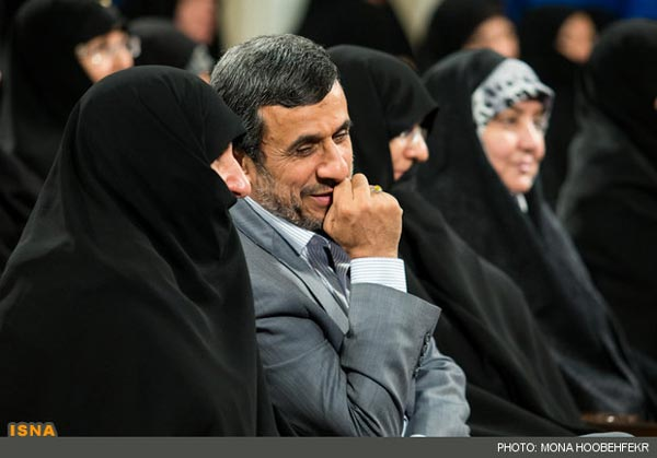 الرئيس الايرانى السابق محمود احمدى نجاد