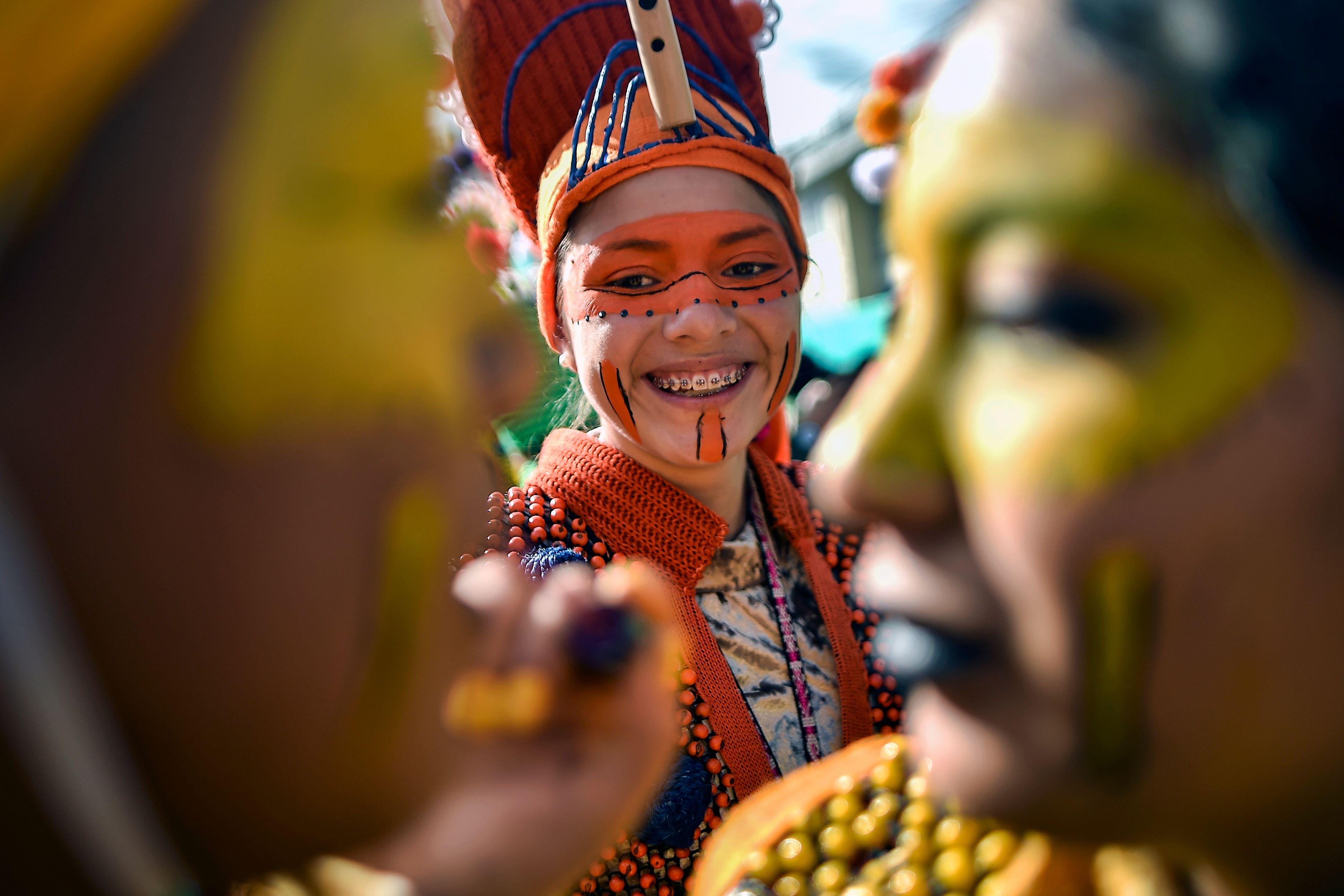مهرجان السود والبيض بكولومبيا