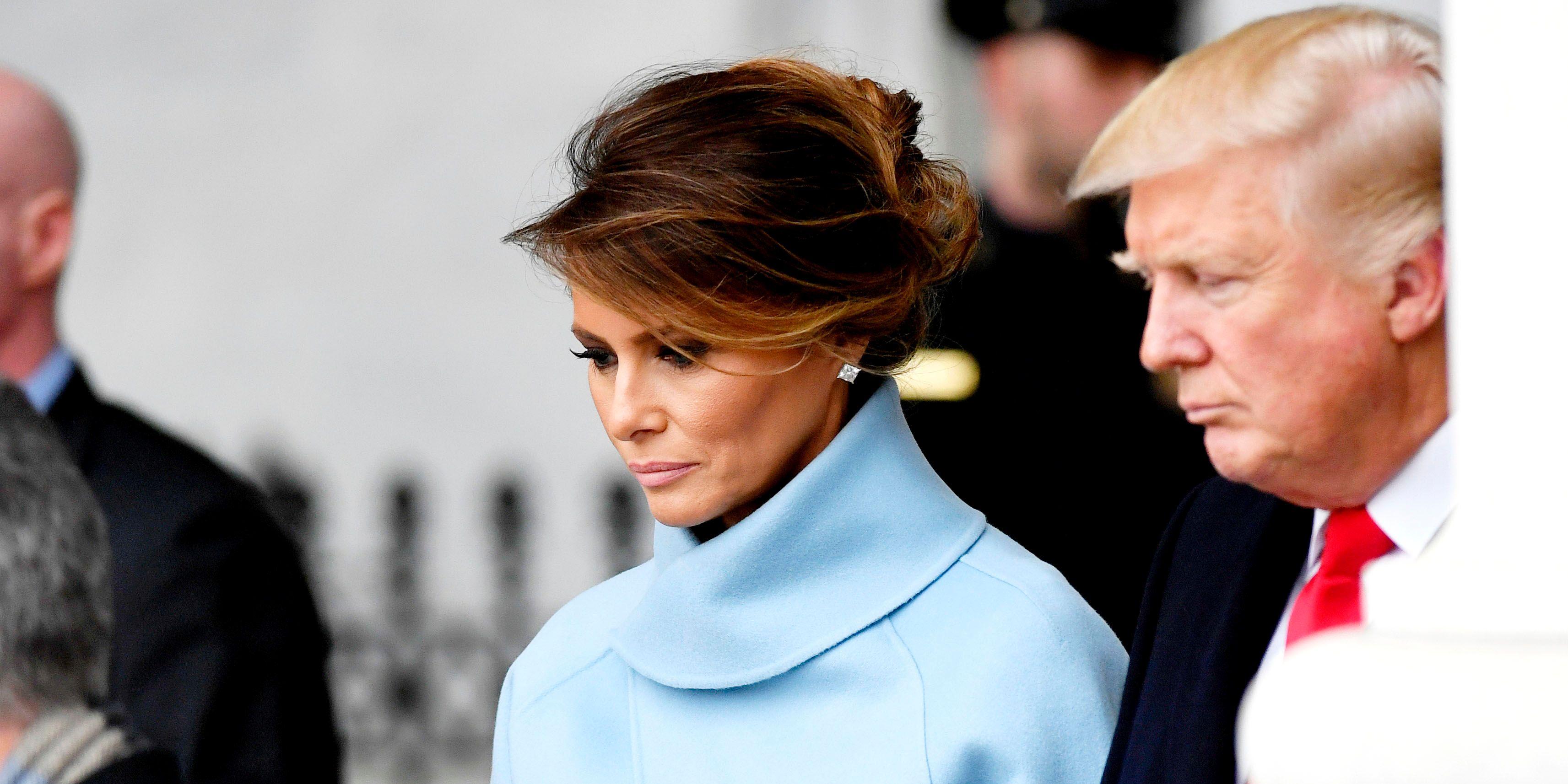 ميلانيا ترامب وخلافاتها مع الرئيس تثير الكثير من الجدل داخل واشنطن
