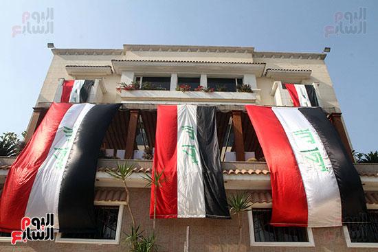 احتفالية السفارة العراقية فى القاهرة بمناسبة الانتصار على داعش
