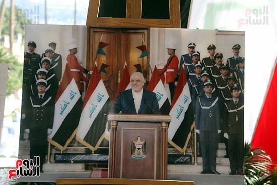رئيس الوزراء العراقى الدكتور حيدر العبادى