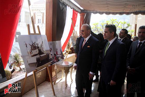 عزف السلام الوطنى فى احتفالية سفارة العراق بعيد النصر