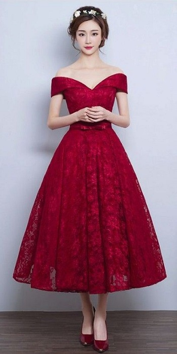 فستان نبيتى أوف شولدر