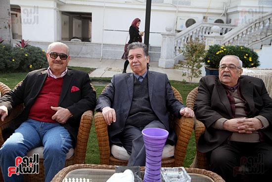 أبناء الجالية العراقية يشاركون فى احتفالية سفارة العراق بمصر