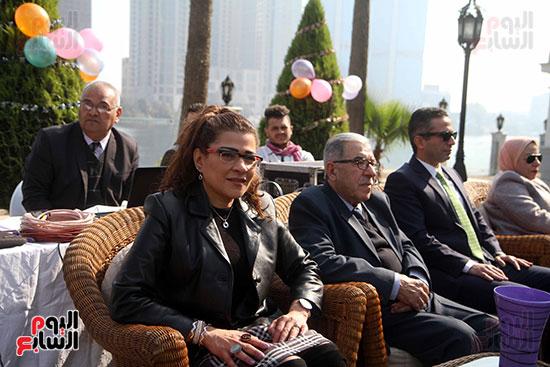 سفير العراق فى مصر حبيب الصدر يفتتح احتفالية السفارة العراقية فى القاهرة