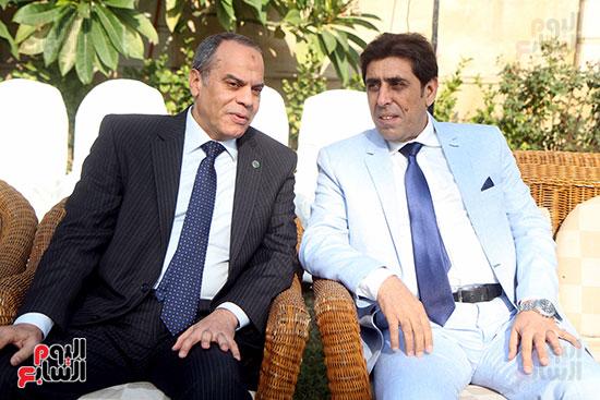 جانب من الحضور فى احتفالية سفارة العراق بمصر