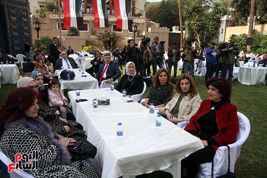 جانب من الحضور فى احتفالية السفارة العراقية بمصر