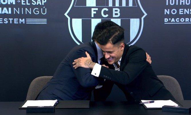 بارتوميو يرحب بكوتينيو