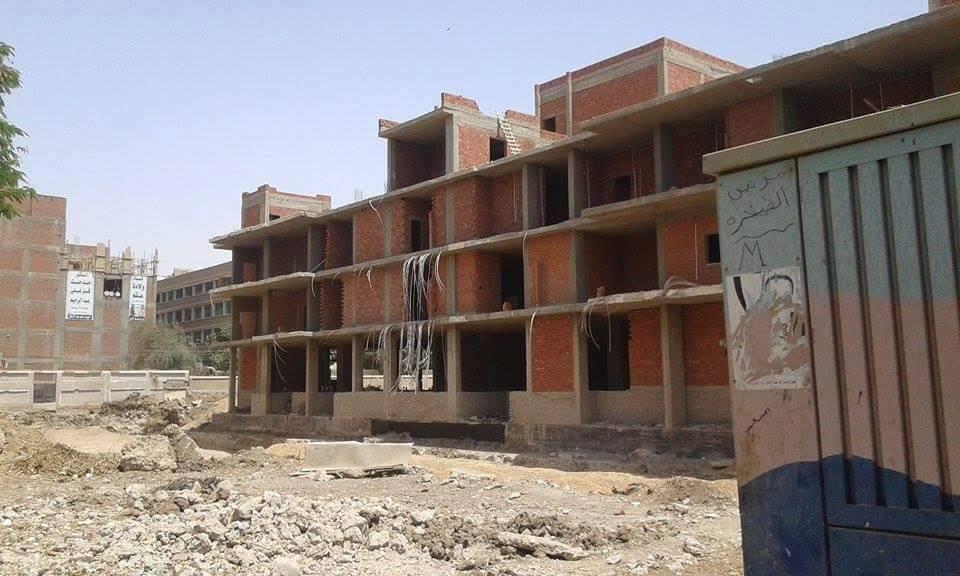 مبنى المستشفى