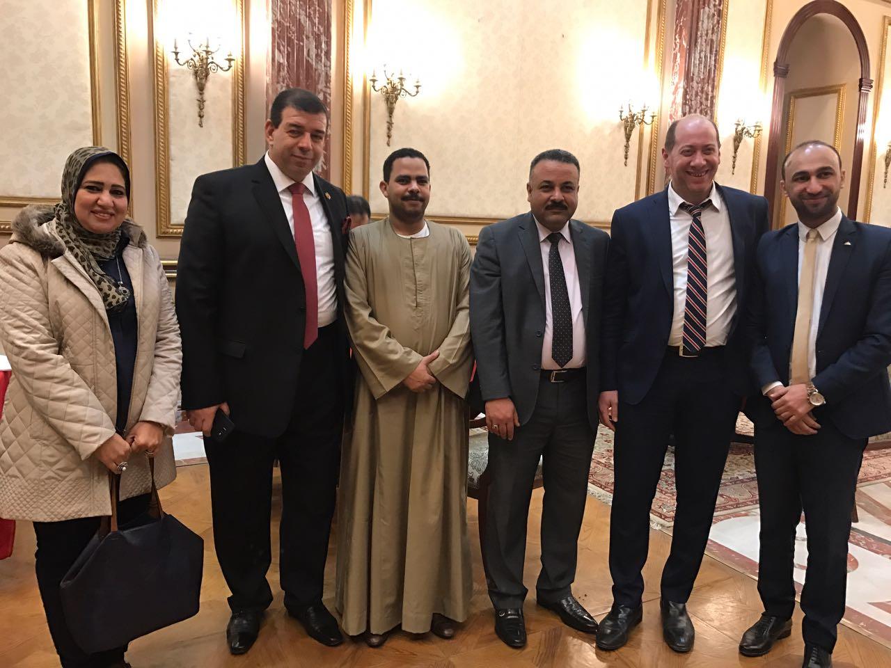 أعضاء الهيئة البرلمانية لحزب مستقبل وطن