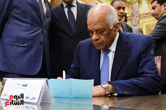 الدكتور على عبد العال رئيس البرلمان (7)
