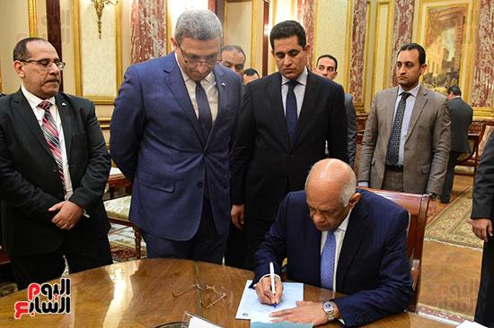 الدكتور على عبد العال رئيس البرلمان (6)