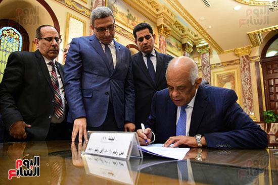 الدكتور على عبد العال رئيس البرلمان (1)