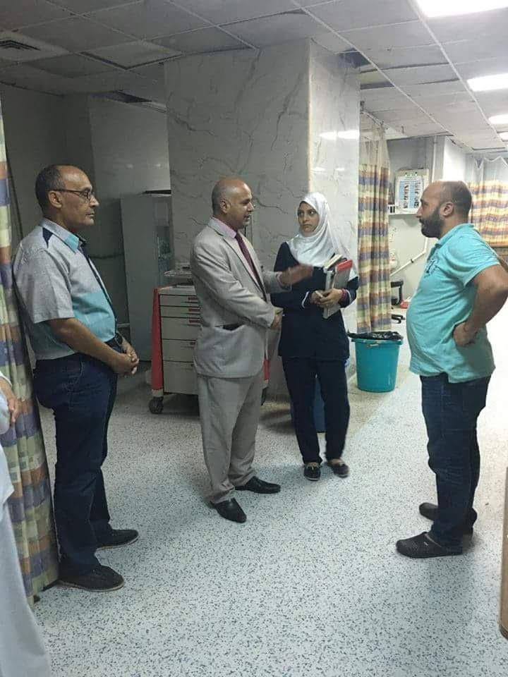 وكيل صحة بنى سويف يتفقد مستشفى الواسطى (2)