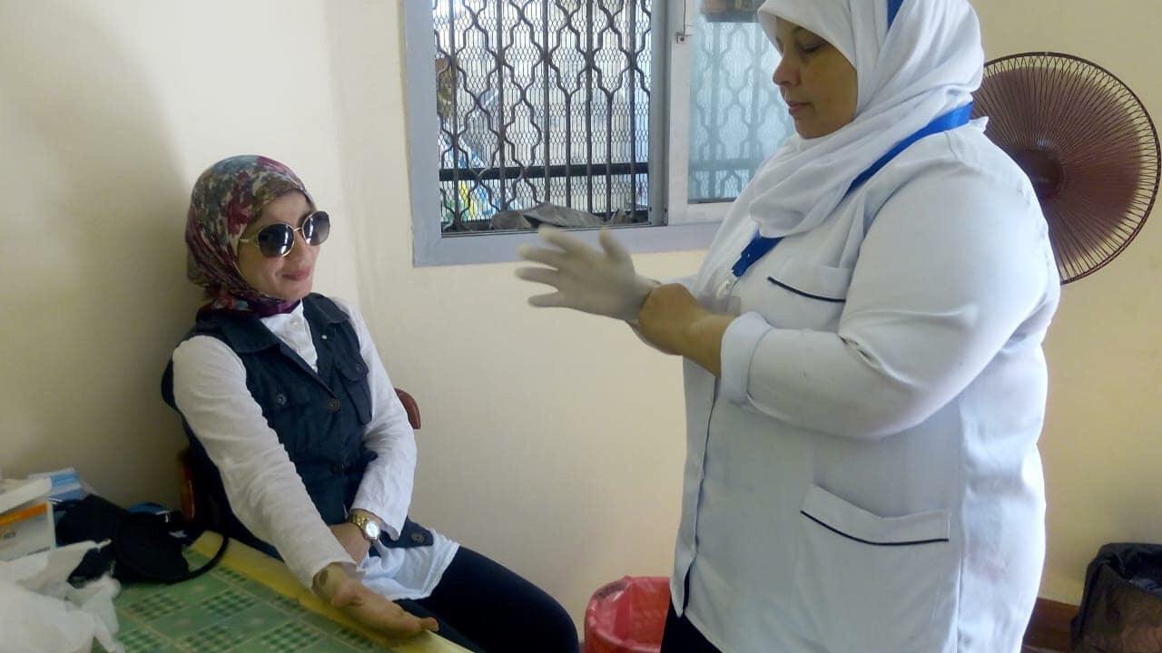 اقبال اهالى بورسعيد على المستشفيات للكشف عن فيروس سى (13)