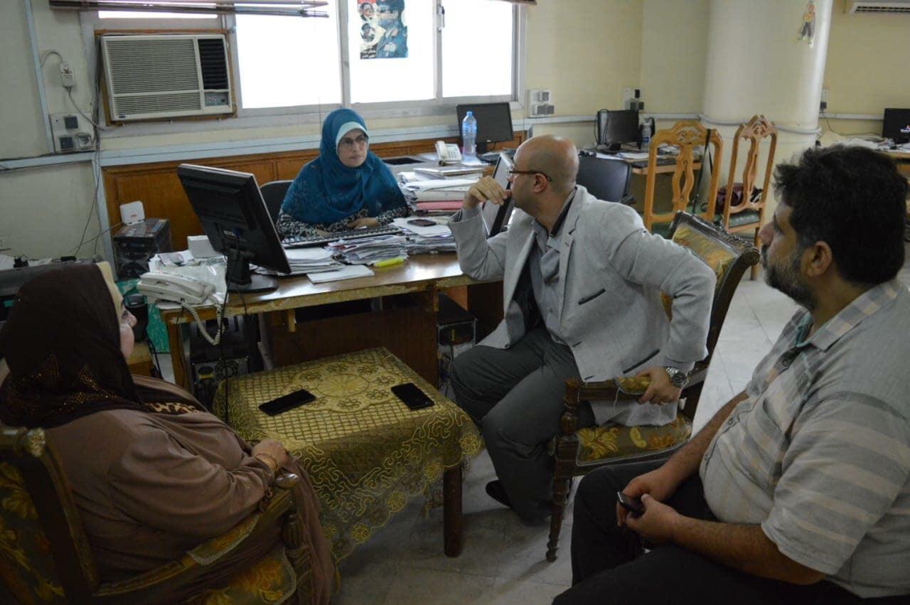 اقبال اهالى بورسعيد على المستشفيات للكشف عن فيروس سى (6)