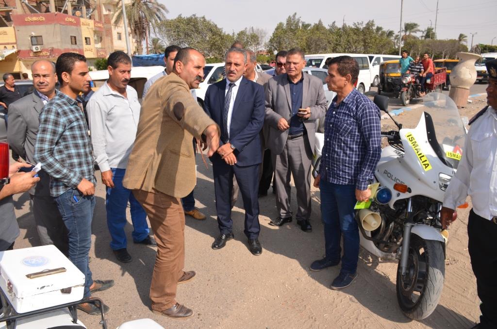 اللواء حمدى عثمان يوافق على إقامة كوبرى علوى على الطريق السريع الاسماعيلية – بورسعيد (2)