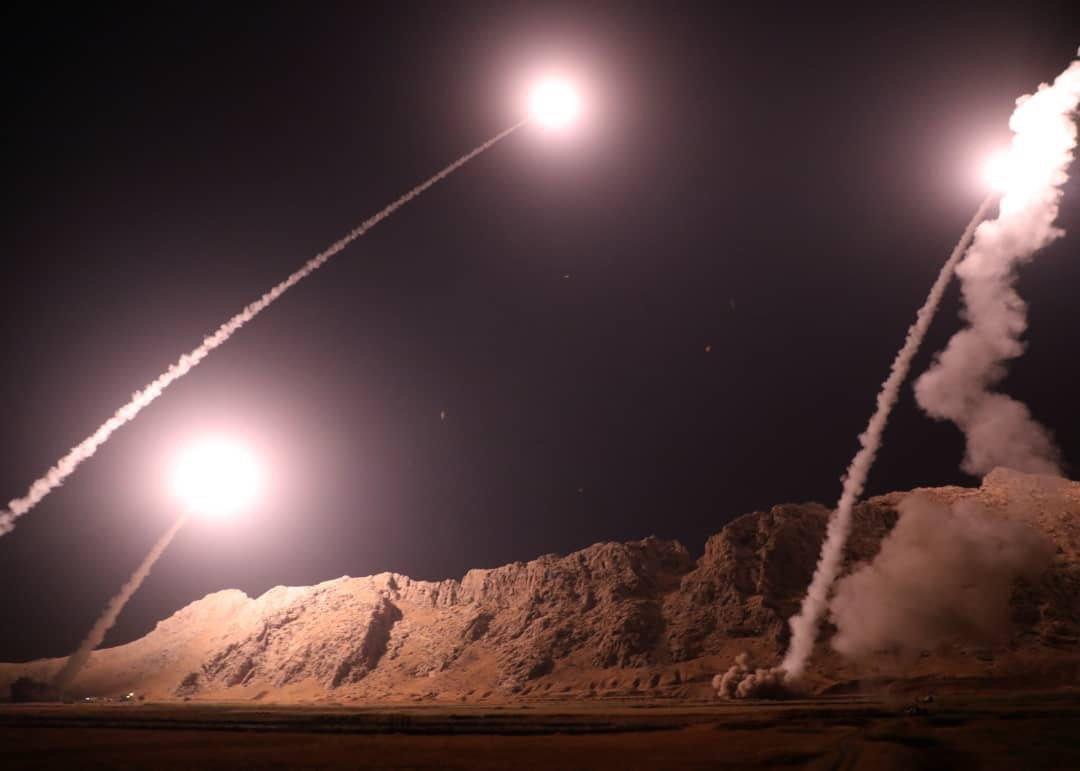 طلاق الصواريخ من كرمانشاه