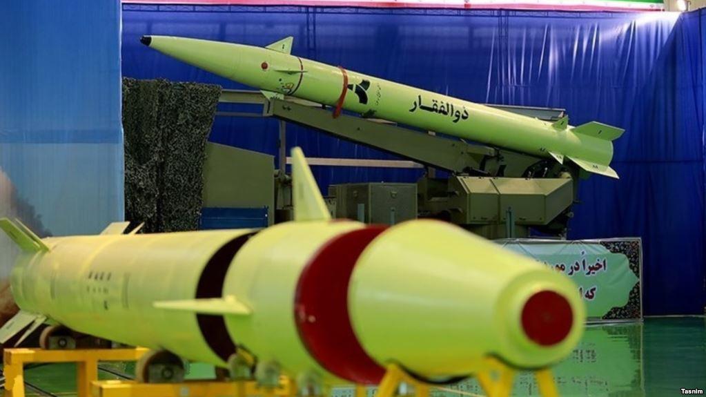 صواريخ ذو الفقار المستخدمة فى الضربة
