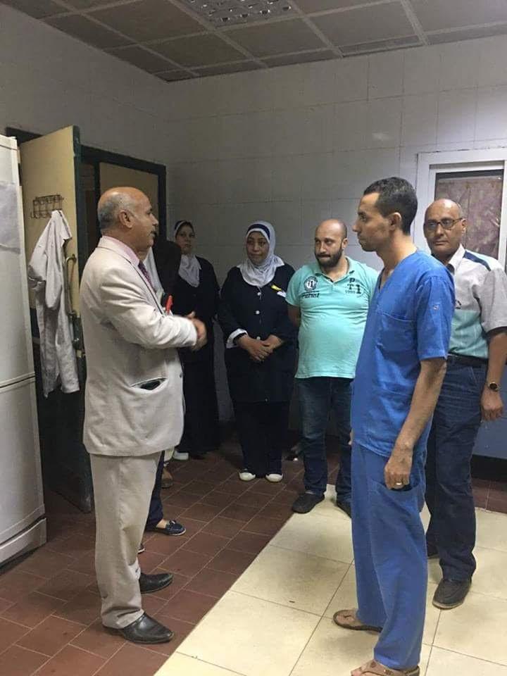 وكيل صحة بنى سويف يتفقد مستشفى الواسطى (1)