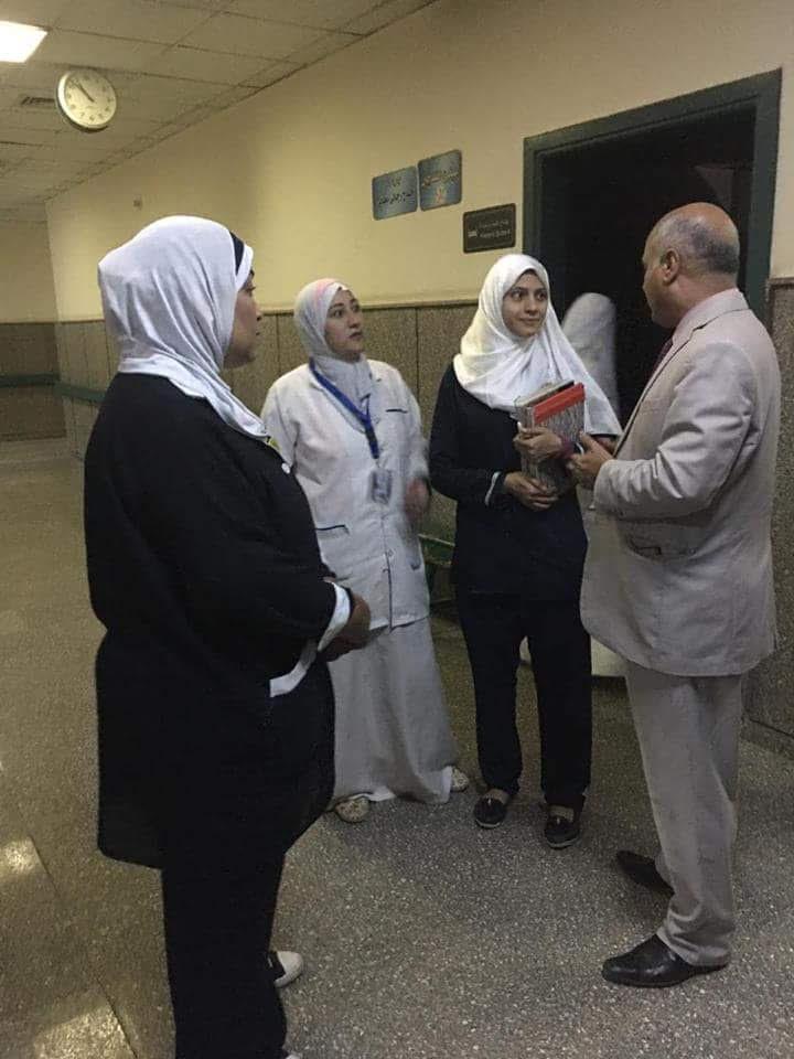 وكيل صحة بنى سويف يتفقد مستشفى الواسطى (3)
