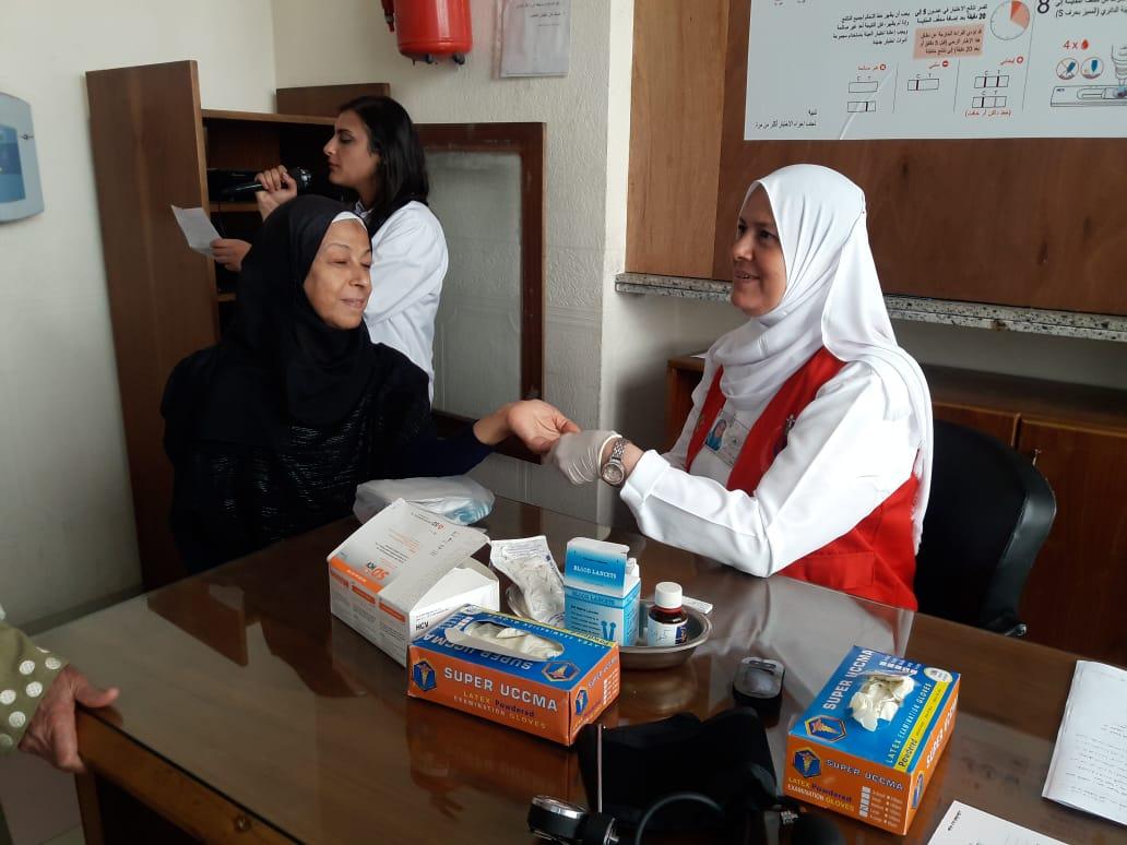 محافظ الإسكندرية يفتتح المبادرة الرئاسية للكشف عن فيروس سى (2)