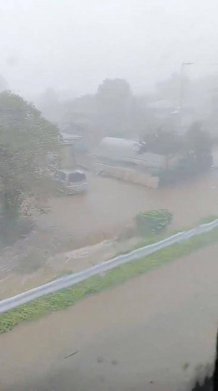 إعصار ترامى فى اليابان
