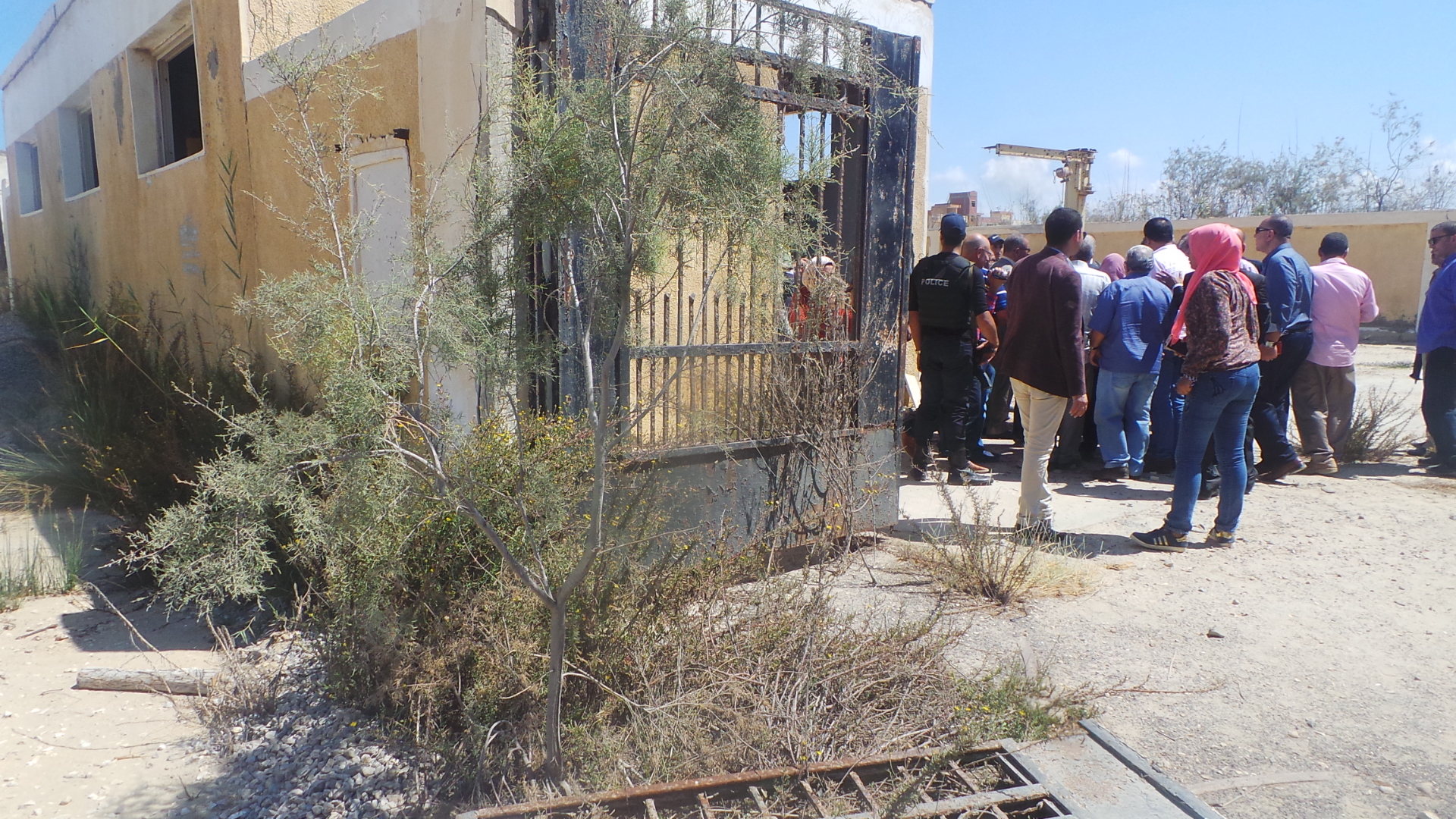محطة  الصرف بجمصة منطقة 15 مايو  (4)