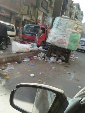 القمامة فى شوارع عين شمس  (1)