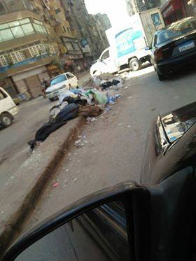 القمامة فى شوارع عين شمس  (2)