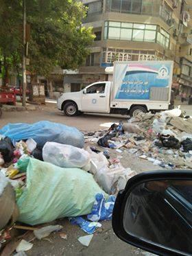 القمامة فى شوارع عين شمس  (4)