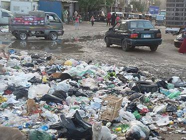 القمامة تحاصر شبرا الخيمة