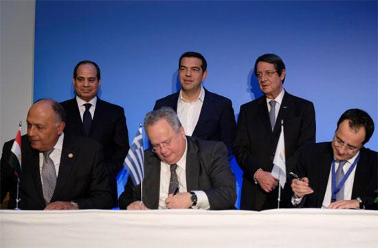 القمة-الثلاثية-بين-زعماء-مصر-وقبرص-واليونان،-(6)