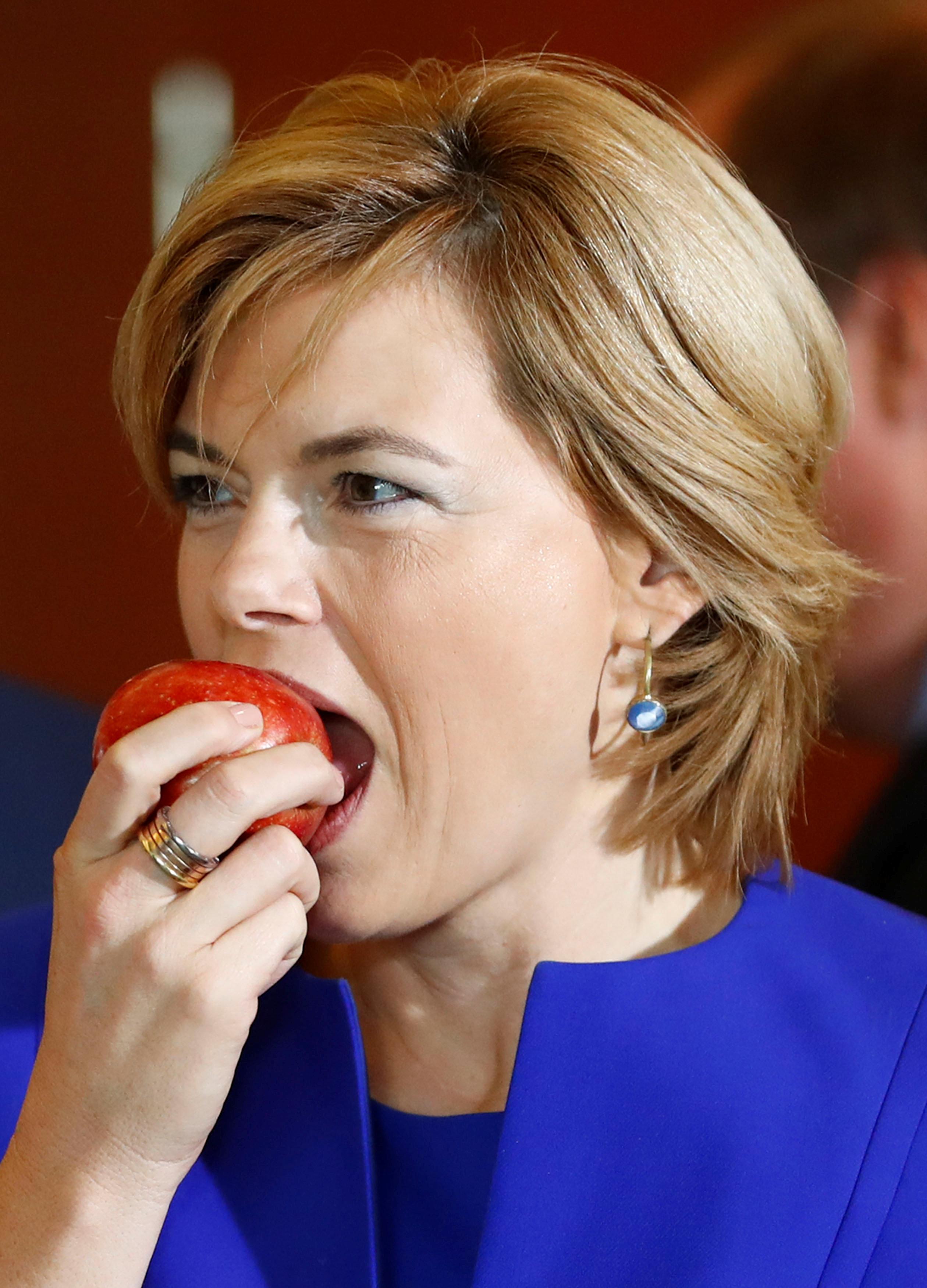 وزيرة الزراعة الألمانية