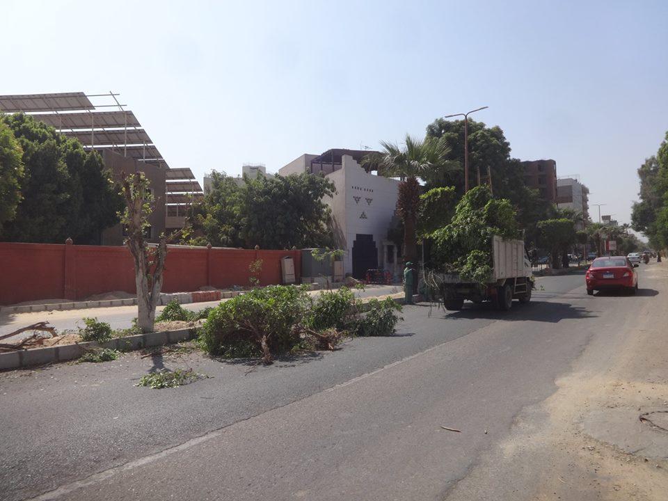 تعرف على آخر تطورات رفع كفاءة شارع خالد بن الوليد بالأقصر (3)