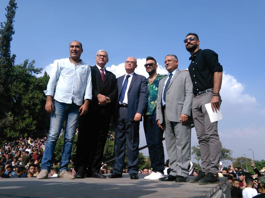 جانب من حفل جامعة عين شمس  (7)