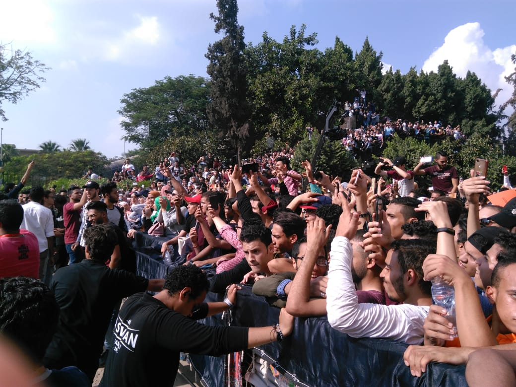 جانب من حفل جامعة عين شمس  (2)