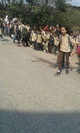 الطريق أمام المدرسة  (2)