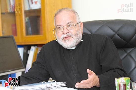 صور الأب بولس جرس أمين مجلس كنائس مصر (5)