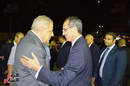 صور عزاء رجل الأعمال عمرو علوبة (4)