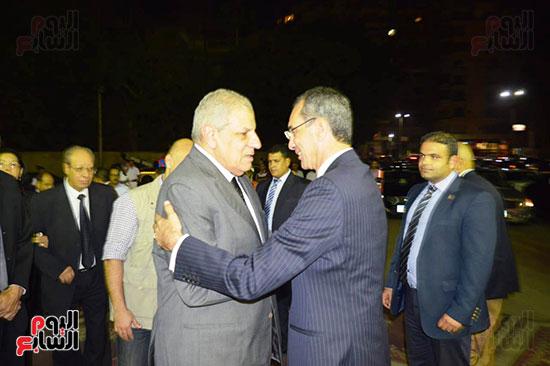 صور عزاء رجل الأعمال عمرو علوبة (7)
