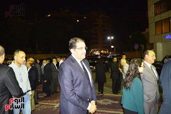 صور عزاء رجل الأعمال عمرو علوبة (15)