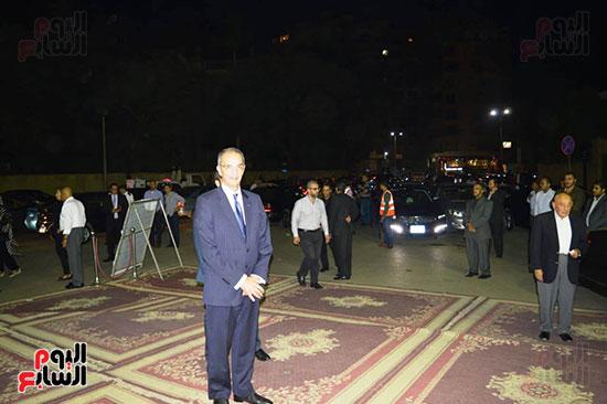 صور عزاء رجل الأعمال عمرو علوبة (13)