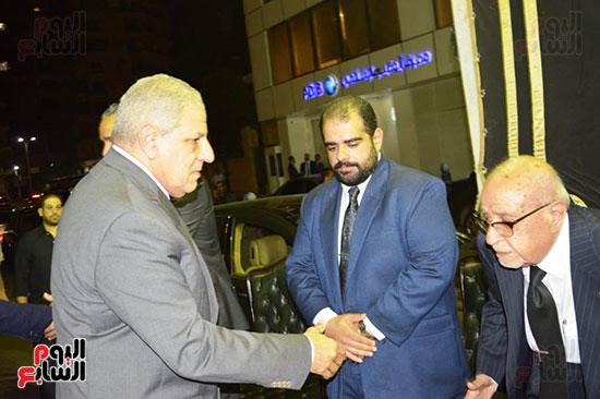 صور عزاء رجل الأعمال عمرو علوبة (2)