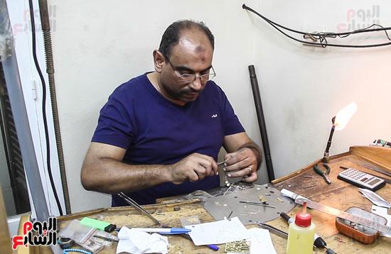 صناعة الدهب والفضة (5)