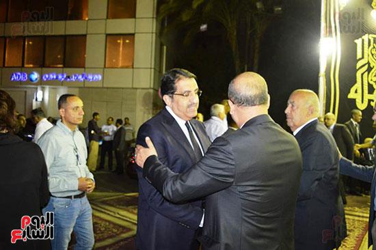 صور عزاء رجل الأعمال عمرو علوبة (18)