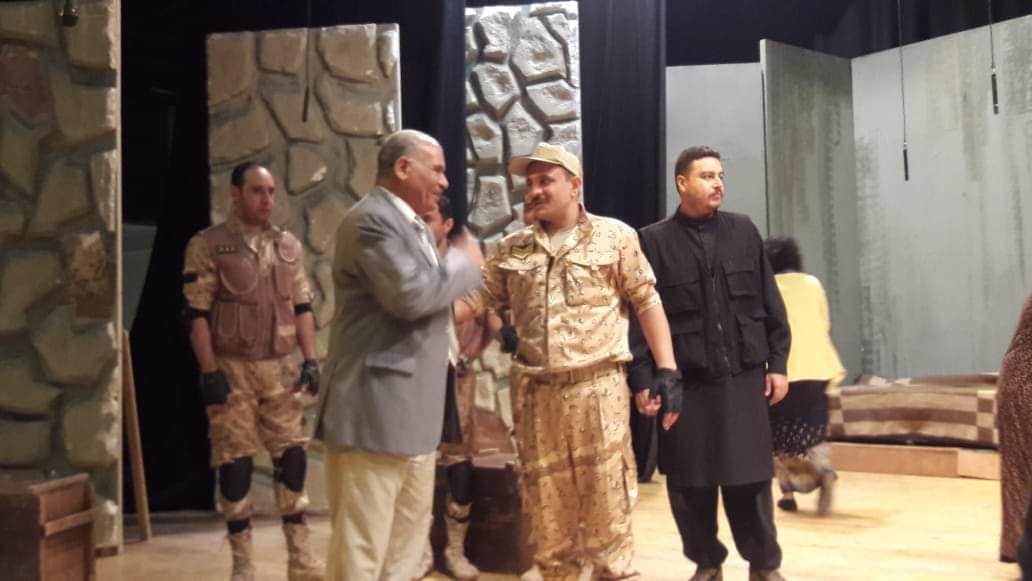 مسرحية أمر تكليف تتألق على مسرح قصر ثقافة الأقصر (2)